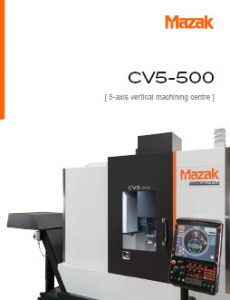 Download the CV5-500 MA 20/400 Catalogue Here